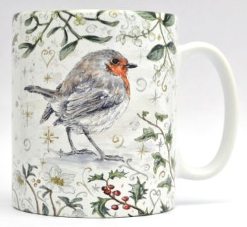 Mugs & Coasters- Winter Berries - Robin R