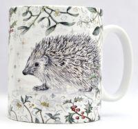 Mugs & Coasters- Winter Berries - Hedgehog
