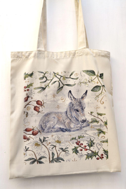 Bag - Winter Berries - Donkey