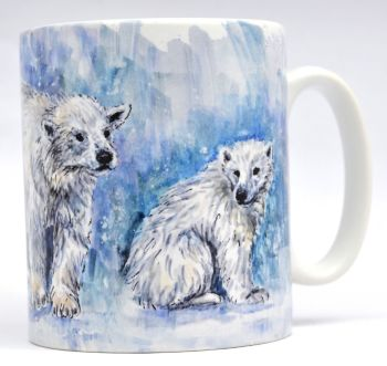 Mugs & Coasters- Polar Bears
