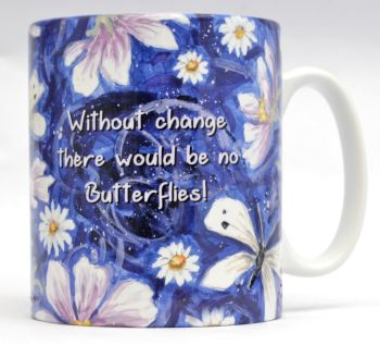 Mugs & Coasters-Cosmos & Butterflies