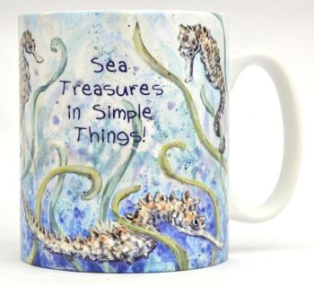 Mugs & Coasters - Seahorses