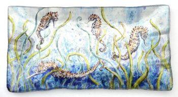 Tray - Seahorses