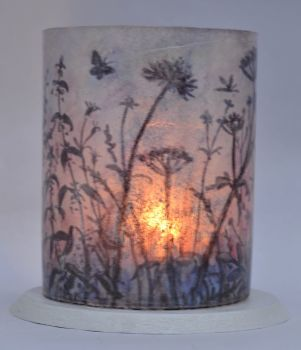 LED Tealight Lanterns - Silhouette Weeds