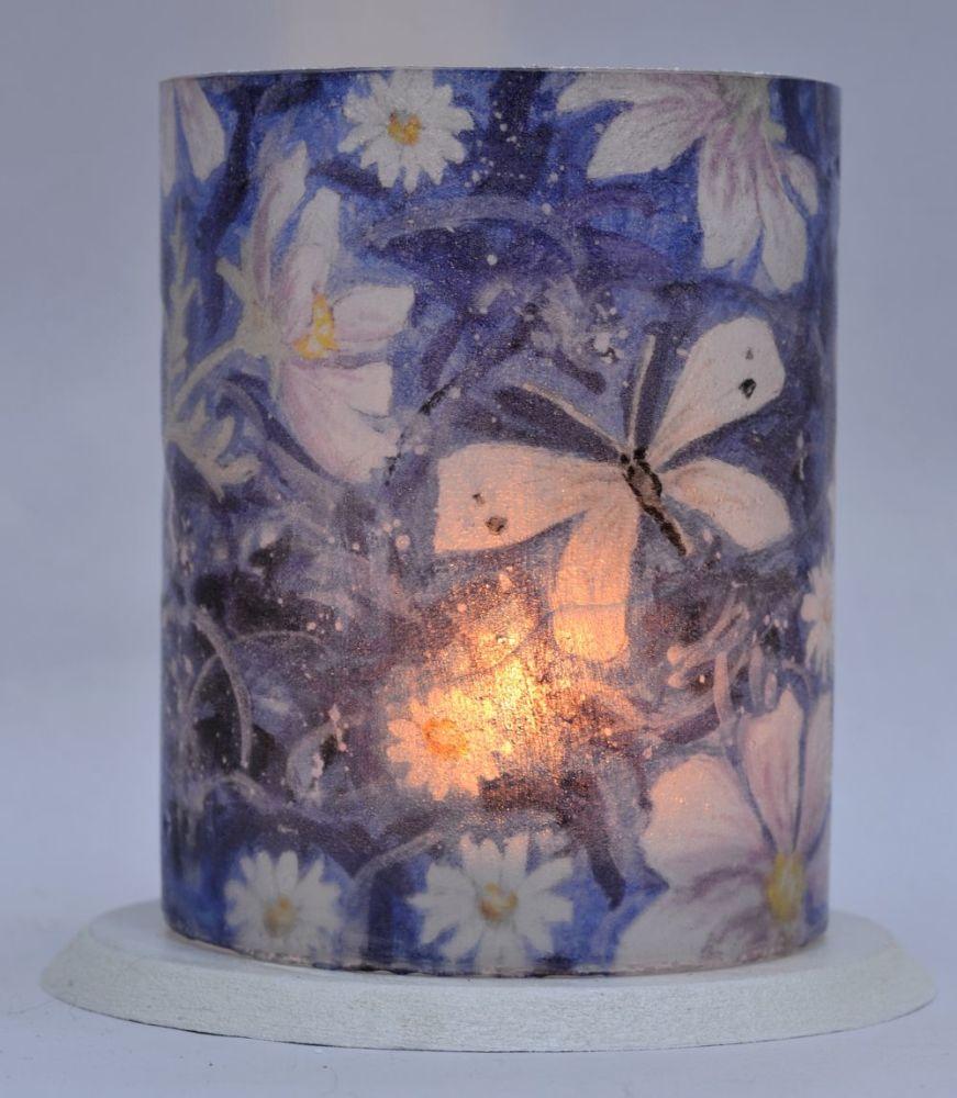 Tealight Lanterns - Cosmos & Butterflies