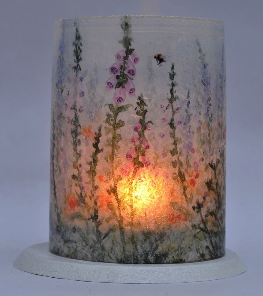 Tealight Lanterns - Foxglove Garden