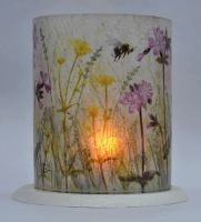 LED Tealight Lanterns - Red Campion