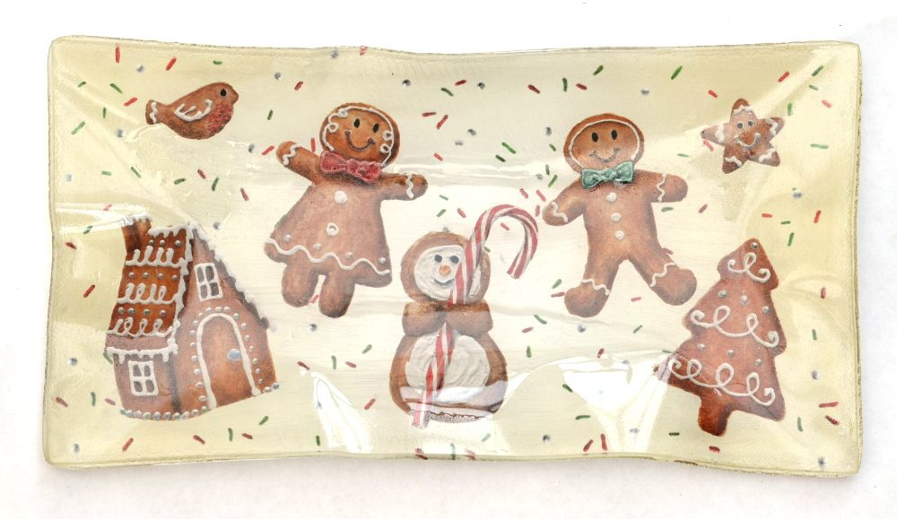 Tray - Gingerbread