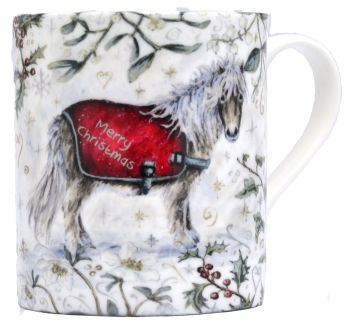 Mugs & Coasters- Winter Berries - Pony