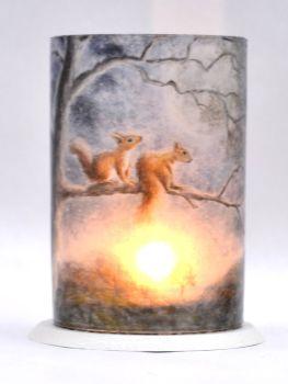 LED Tealight Lanterns - Moon Squirrels