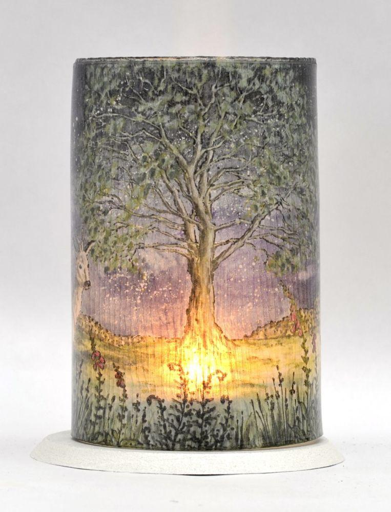 LED Tealight Lanterns - Dark Skies