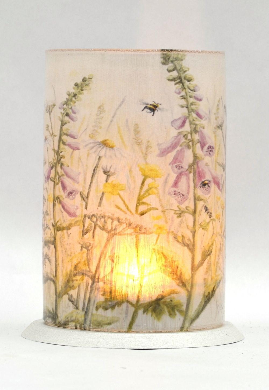 LED Tealight Lanterns - Foxgloves
