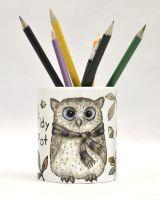 Tidy Pot - Autumn Owl