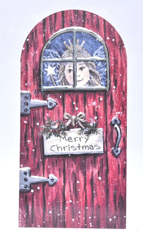 Magical Door - Christmas Fairy Door