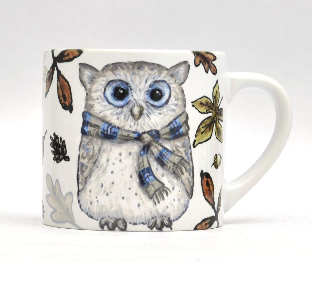 Child's Mug- Autumn Owl