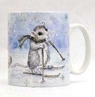 Mugs & Coasters- Mice Sledge