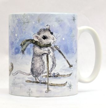 Mugs & Coasters- Mice Sledge