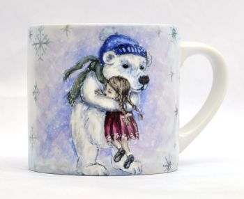 Child's Mug- Polar Bear Hugs