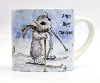 Child's Mug- Mice Sledge