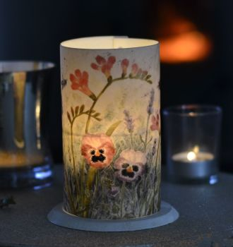 LED Tealight Lanterns - Freesia