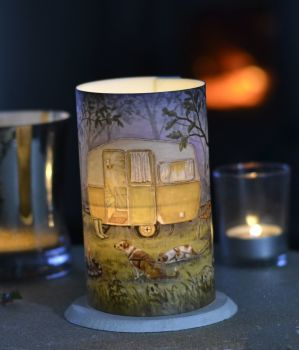 LED Tealight Lanterns - Caravan