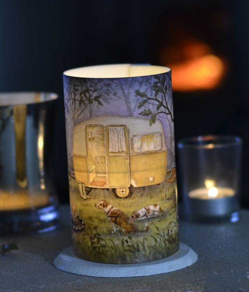LED Tealight Lanterns - Caravan