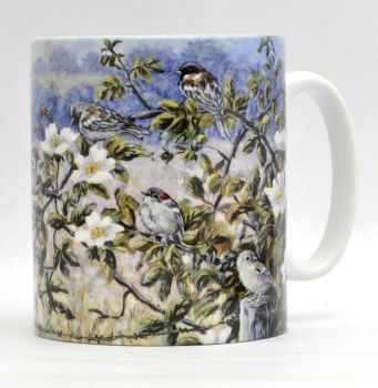 Mugs & Coasters-Sparrows & Roses