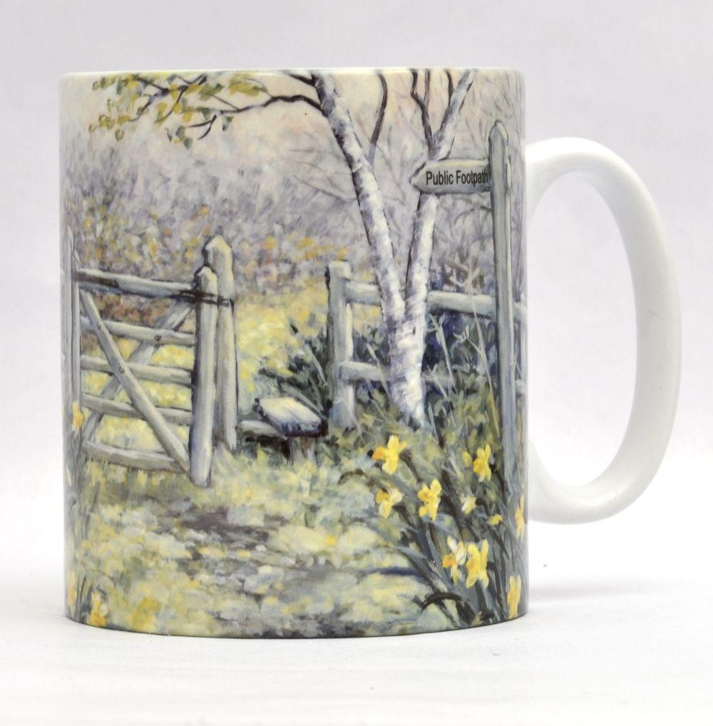 Mugs & Coasters-Daffodil Walk
