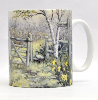 Mugs & Coasters-Daffodil Walk