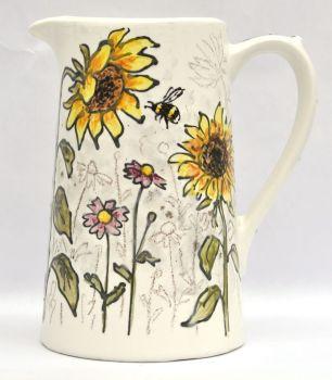 Jug - Sunflowers