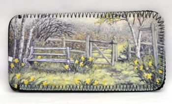 Glasses Case - Daffodil Walk
