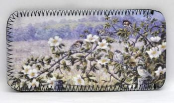 Glasses Case - Sparrows & Roses