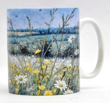 Mugs & Coasters - Daisy Meadow