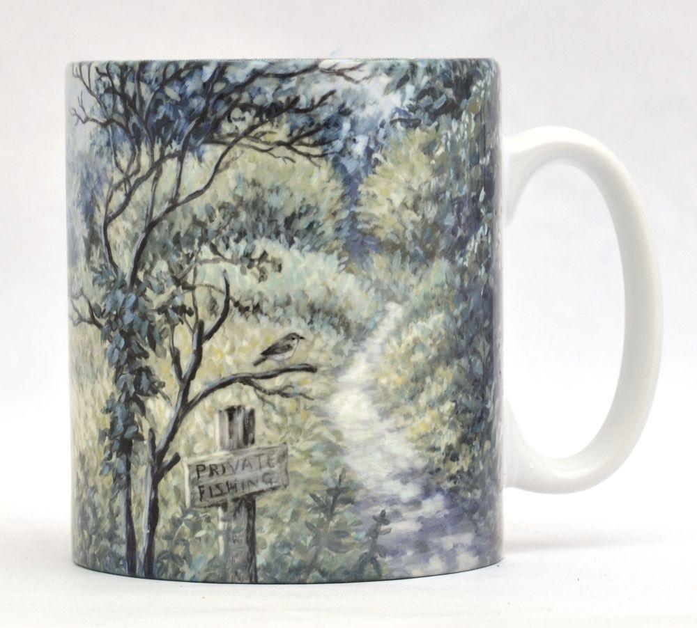 Mugs & Coasters - Sunny Riverbank
