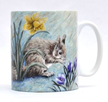 Mug or Coaster-Spring Squirrel