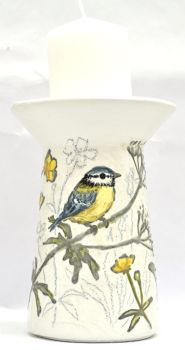 Candle Stand - Bluetit