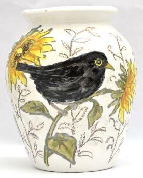 S Vases - Blackbird