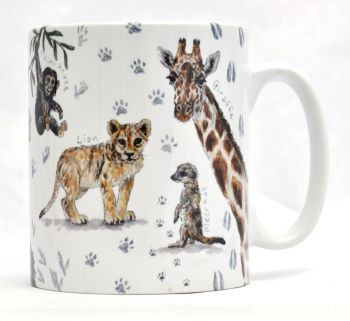 Mug or Coaster- African Animals