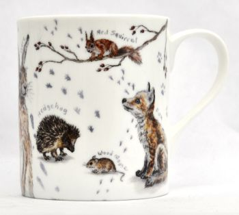 Mug or Coaster- Forest Wildlife