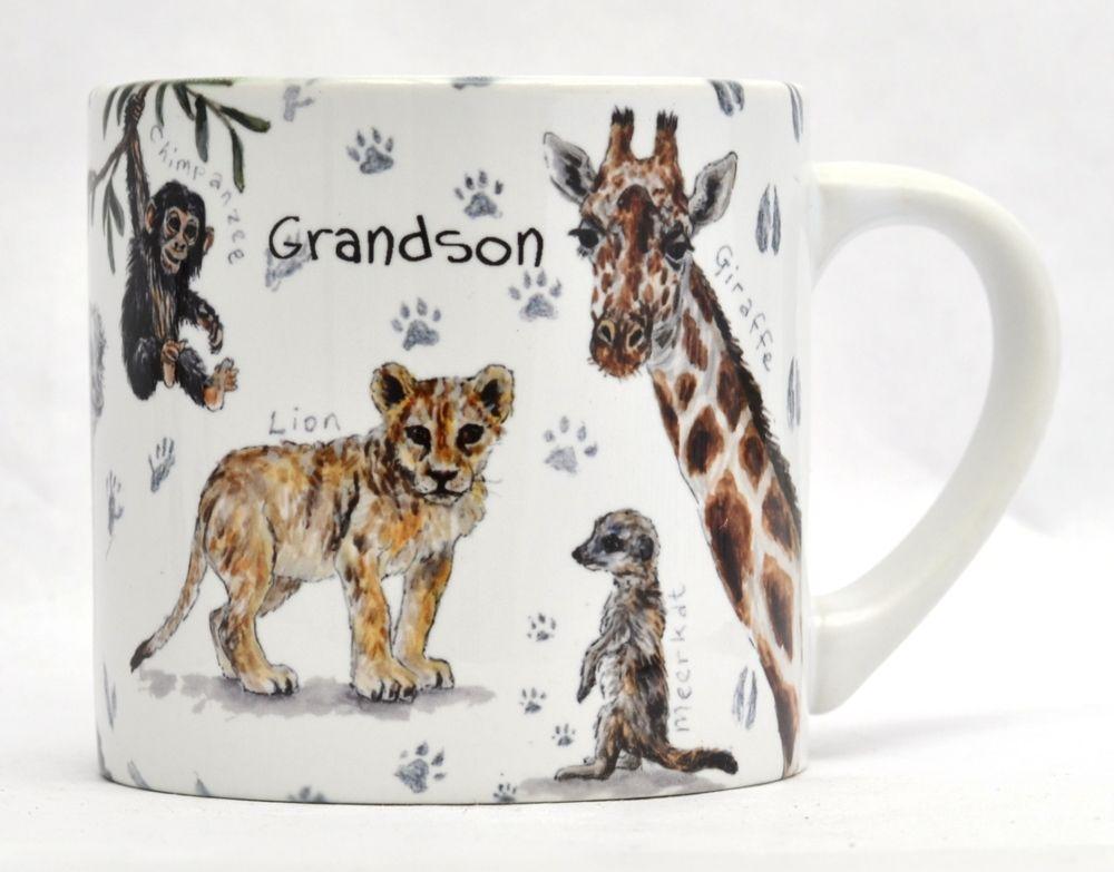 Child's Mug- African Animals