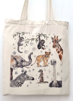 Bag - African Animals
