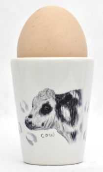 Egg Cup - Cow
