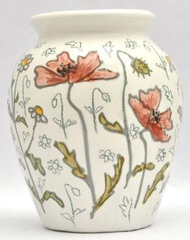 S Vases - Poppies