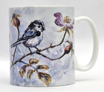 Mugs & Coasters- Long Tailed Tit & Roses 2019