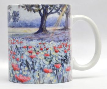 Mugs & Coasters- Sunlit Poppies