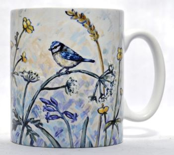 Mugs & Coasters- Blue Tit & Bluebells