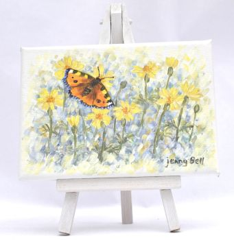 Small Canvas - Tagetes