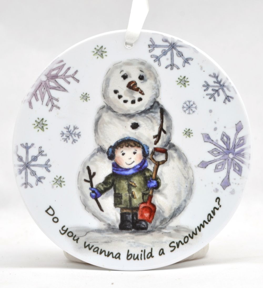 Bauble - Do you want to build a Snowman - Boy