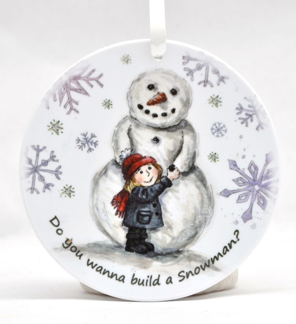 Bauble - Do you want to build a Snowman - Girl