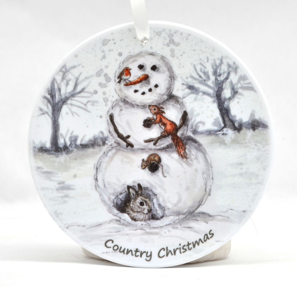 Bauble - Do you want to build a Snowman - Wildlife